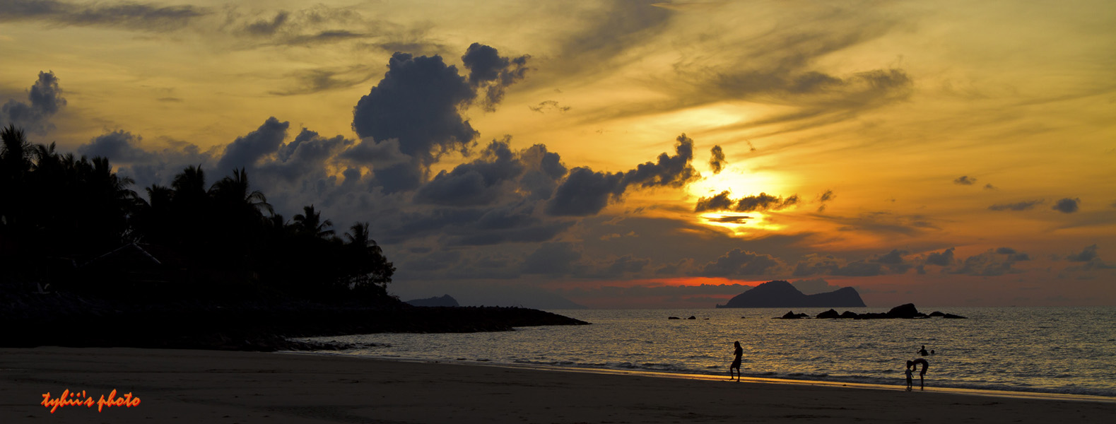 Sunset at Damai Puri